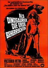 Als Dinosaurier die Erde beherrschten - Poster