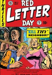 Red Letter Day Poster