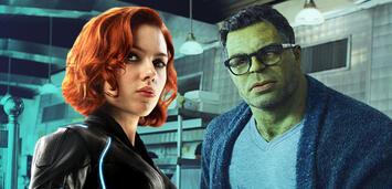Bild zu:  Black Widow und Hulk