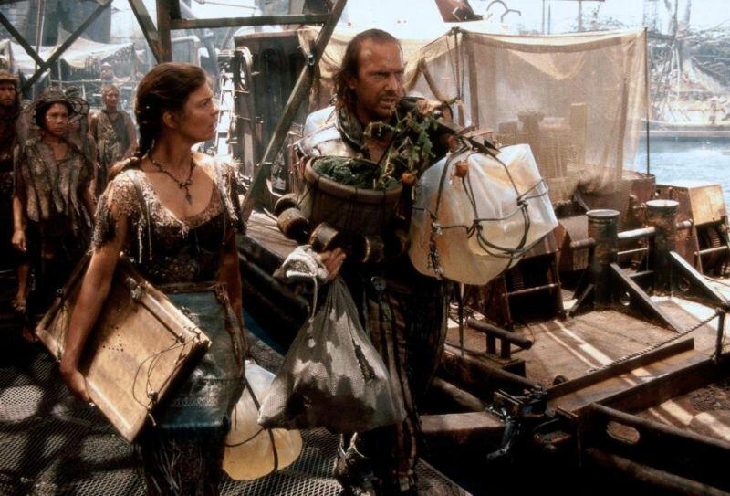 Waterworld mit Kevin Costner