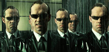 Hugi Weaving als Agent Smith in Matrix Revolutions