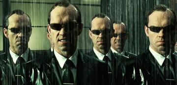 Hugi Weaving als Agent Smith in Matrix Revolutions