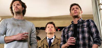 Supernatural: Sam, Castiel und Dean