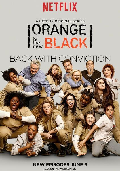 Orange Is The New Black Poster Season 2 Orange Is the New Blac...