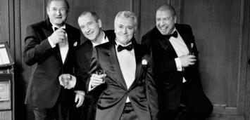 Bild zu:  Burghart Klaussner, Peter Lohmeyer, Henry Hübchen und Armin Rohde