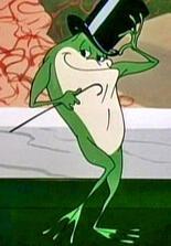 Der singende Frosch