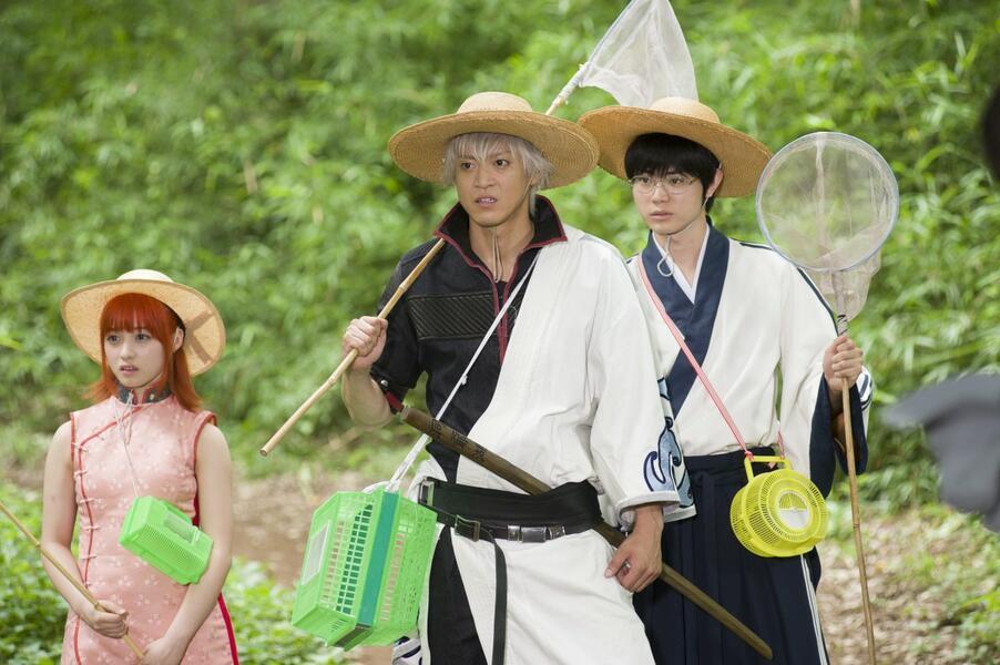 Gintama mit Shun Oguri, Kana Hashimoto und Masaki Suda