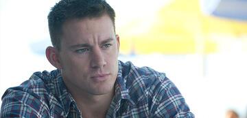Channing Tatum in Foxcatcher