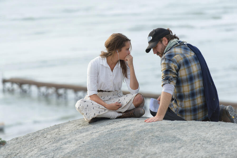 The Light Between Oceans mit Alicia Vikander und Derek Cianfrance