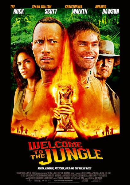 Welcome to the Jungle mit Christopher Walken, Dwayne Johnson und Seann William Scott