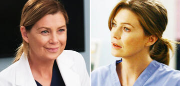 Grey's Anatomy: Ellen Pompeo als Meredith in Staffel 17 und Staffel 1