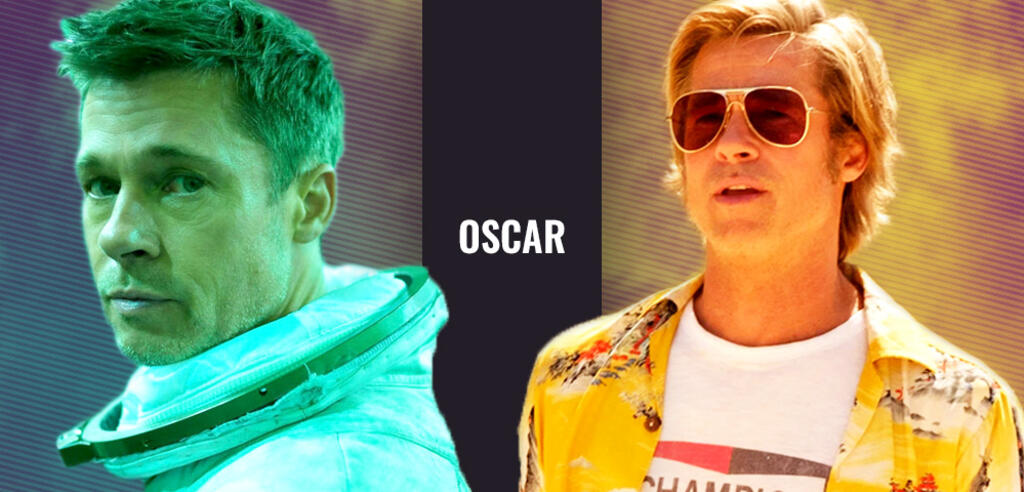 Brad Pitt in Ad Astra und Once Upon a Time ... in Hollywood