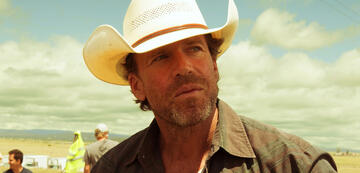 Taylor Sheridan beim Dreh von Hell or High Water