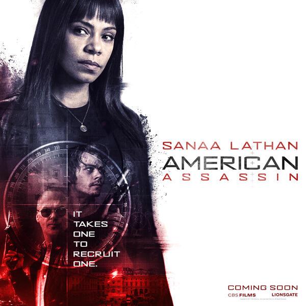 American Assassin mit Sanaa Lathan