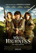 Your Highness - Schwerter, Joints und scharfe Bräute Poster
