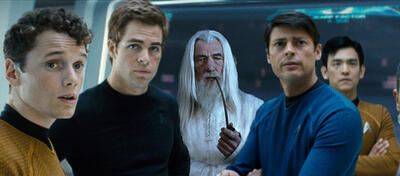Star Trek Into Darkness Trailer vor Der Hobbit
