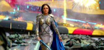 Bild zu:  Tessa Thompson als Valkyrie in Thor 3: Tag der Entscheidung