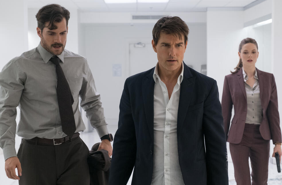 Mission: Impossible 6 - Fallout mit Tom Cruise, Henry Cavill und Rebecca Ferguson