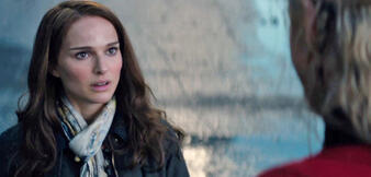 Natalie Portman in Thor 2: The Dark Kingdom
