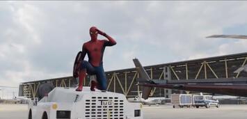 Bild zu:  Tom Holland in Captain America: Civil War