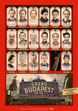 Grand Budapest Hotel - Poster