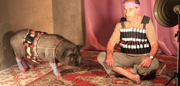 Bild zu:  Das Schwein von Gaza