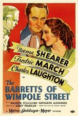 The Barretts of Wimpole Street - Poster