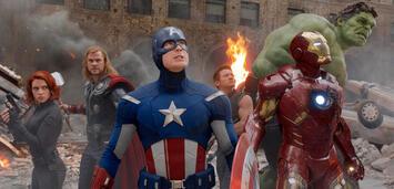 Bild zu:  Sind sie in Age of Ultron das letzte Mal zusammen? Die Avengers bei ihrem ersten Kinoauftritt