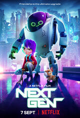 Das Mädchen und ihr Roboter - Die nächste Generation - Poster