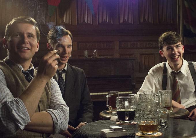 The Imitation Game - Ein streng geheimes Leben mit Benedict Cumberbatch, Allen Leech und Matthew Beard