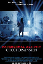 Paranormal Activity 5: Ghost Dimension Poster