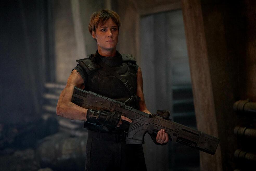 Terminator: Dark Fate mit Mackenzie Davis