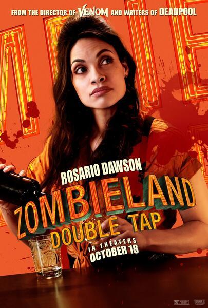 Zombieland 2: Doppelt hält besser mit Rosario Dawson