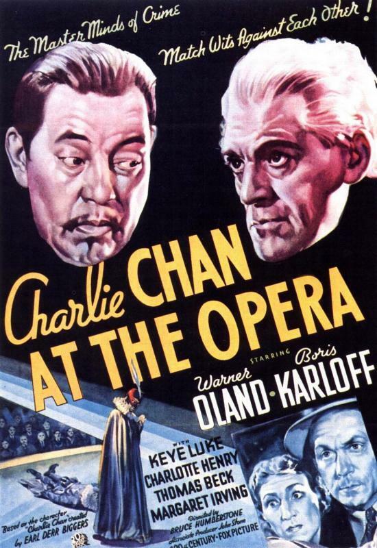 Charlie Chan in der Oper