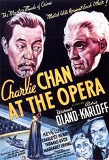 Charlie Chan in der Oper - Poster