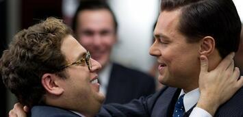 Bild zu:  Hill und DiCaprio in The Wolf of Wall Street