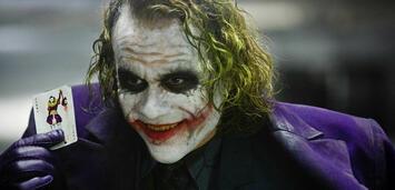Bild zu:  Heath Ledger als der Joker in The Dark Knight