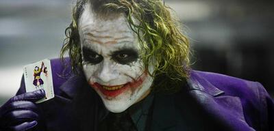 Heath Ledger als der Joker in The Dark Knight