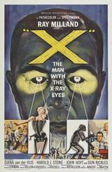 Der Mann mit den Röntgenaugen - Poster