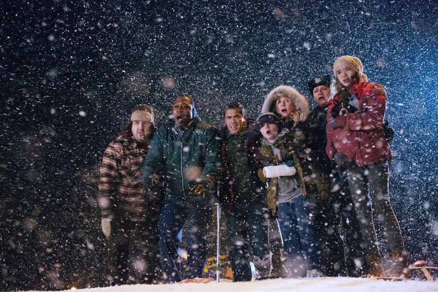 One Christmas Eve mit Anne Heche, Griffin Kane, Kevin Daniels und Alissa Skovbye