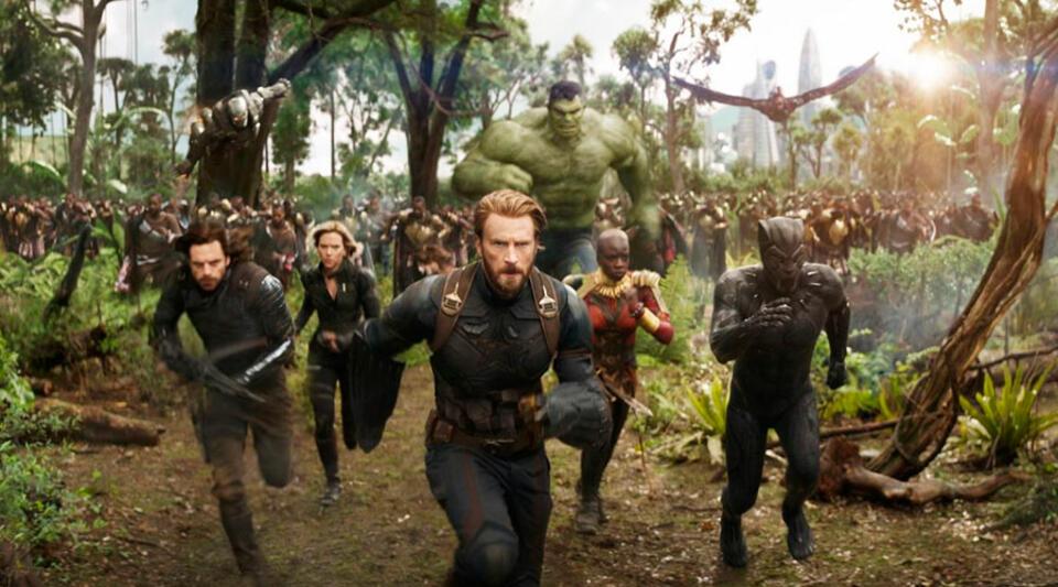 Ein Teil der Avengers befindet sich in Wakanda