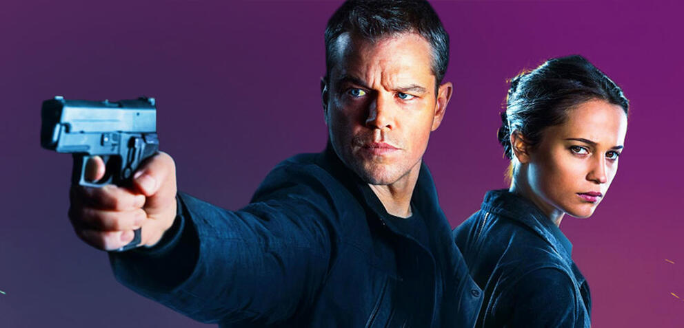 Matt Damon ist Jason Bourne