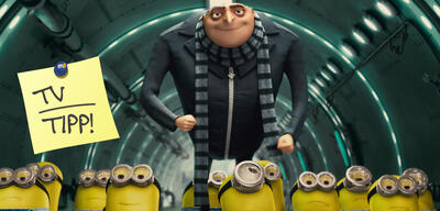 Gru mit seinen Minions