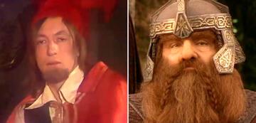 Der Herr der Ringe im Vergleich: Gimli