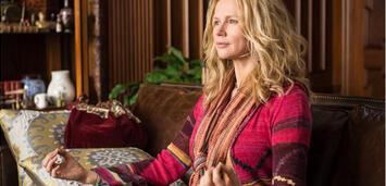 Bild zu:  Entspannt sich schon mal:Veronica Ferres inHectors Reise oder die Suche nach dem Glück