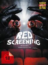 Red Screening - Blutige Vorstellung - Poster