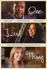 One Last Thing - Poster