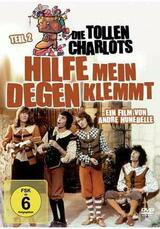 Die tollen Charlots - Hilfe, mein Degen klemmt - Poster