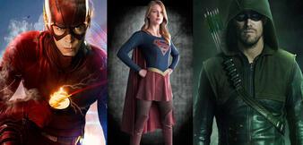 The Flash, Supergirl und Arrow