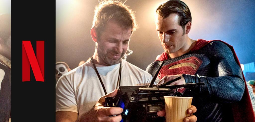 Zack Snyder und Henry Cavill
